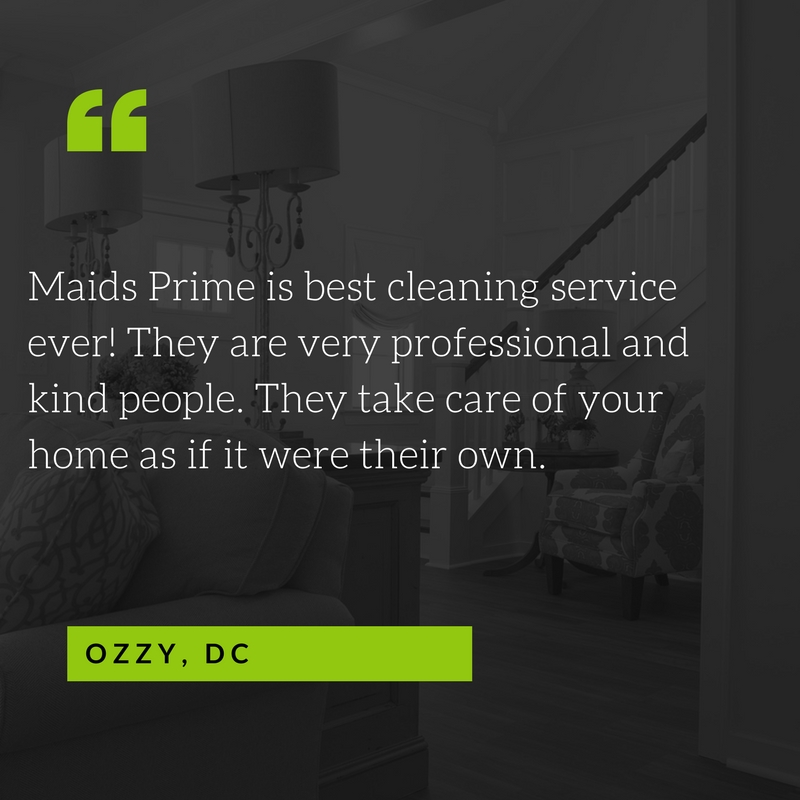 House Cleaning Services in DC, MD, VA - Maids Prime