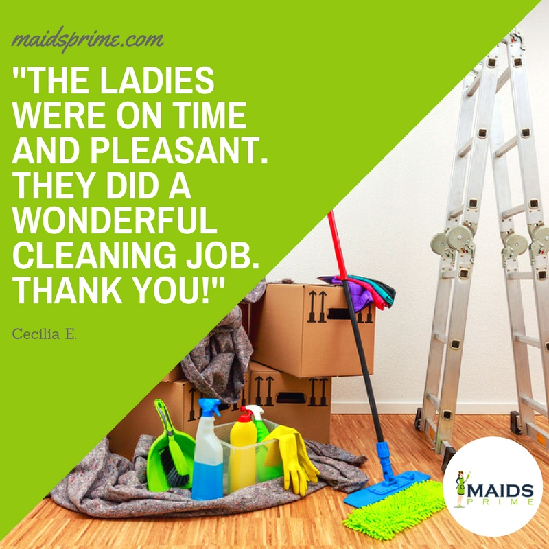 construction cleaning review maids prime